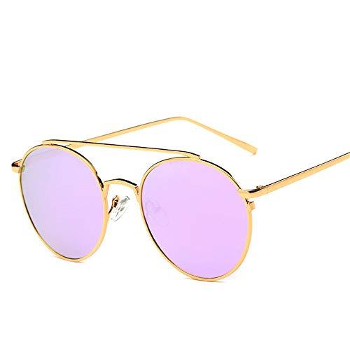 REALIKE--Sonnenbrillen für Damen Gold Rund Farben Verspiegelt Katzenauge Brille Sonnenbrille Übergroße Cool Damenbrillen Frauen Schwarz Cat Eye Sunglasses Travel Eyewear