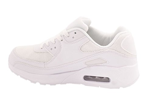 Femme Homme Sneakers Chaussures de sport Chaussures de Course Runners Fitness New Look Sneakers Blanc - Blanc