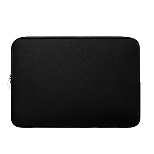 Für 10-11 Zoll Tablet Sleeve Hülle, Colorful Ultra dünn Laptoptasche Notebooktasche Laptop Schutzhülle Tasche für iPad Pro 11 2018, iPad Pro 10.5, iPad Pro 9.7,Surface Go 2018 (Schwarz)