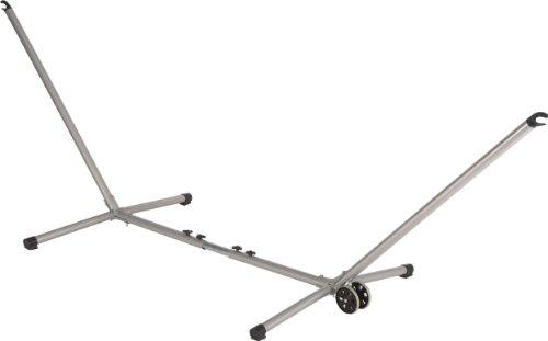 Jobek 10721 soporte de metal para hamaca ADVANT VARIO plateado