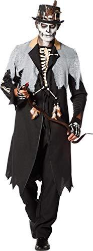 Orleans Kostüm New Karneval - Wilbers & Wilbers Voodoo Kostüm Herren Priester Medizinmann Schamane Skelett