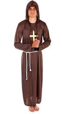 Mönche Kostüm - Mönch-Kostüm - Ordensbruder - für Herren