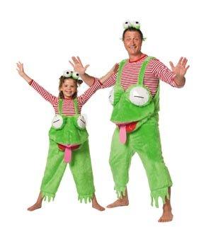 Wilbers Federbein Froggie Latzhose Kinder Kostüm (5–6Jahre)