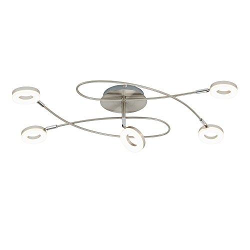 Briloner Leuchten–Foco de Techo LED, Lámpara de techo, lámpara de techo, focos,...