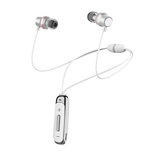 DANGSHUO Bluetooth 4.1 Drahtlose Ohrhörer Sweatproof Stereo Noise Cancelling Magnetkopfhörer In-Ear Integriertes Mikrofon-Headset HiFi-Bass Für Sport, Laufen, Training D - Ohrhörer Ohne Kabelsalat