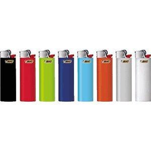 50 x Bic Feuerzeug Maxi farbig sortiert