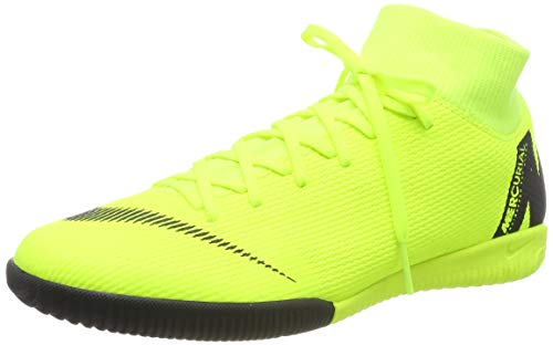 Nike Herren Vapor 12 Academy Ic Fußballschuhe,Gelb (Volt / Black 701),38.5 EU (Nike Tempo Schuhe Fußball)