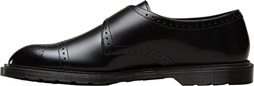 Dr.Martens Mens Cobden Polished Smooth Leather Shoes Noir