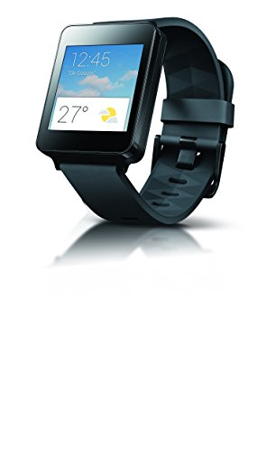 LG G Watch W100 - Smartwatch de 1.65'' (4 GB, 512 MB de RAM, USB), negro
