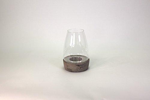 Due pezzi portacandela in ceramica e vaso