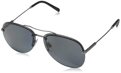 Bulgari Herren 0Bv5044 195/81 60 Sonnenbrille, Grau (Polargrey)