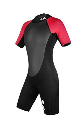 Active Spring Short Sleeve Neoprenanzug, rot/schwarz thumbnail