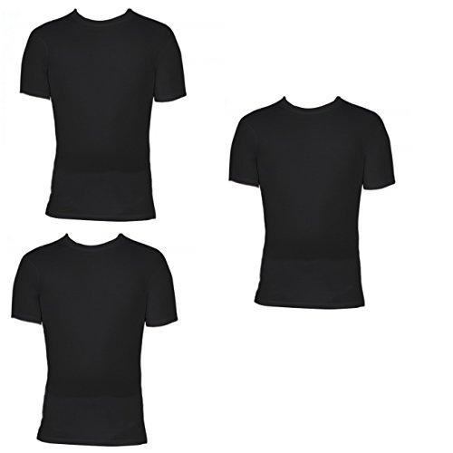 3 t shirt corpo uomo LIABEL mezza manica girocollo 100% cotone art. 03828/23N