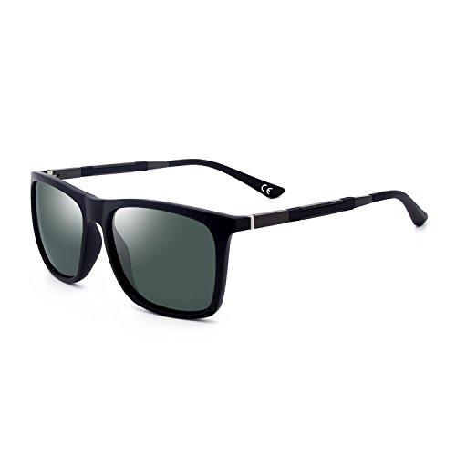 BLEVET Polarisierte Sonnenbrille Herren Damen Brillen Für Sport Fahren UV-Schutz BE002