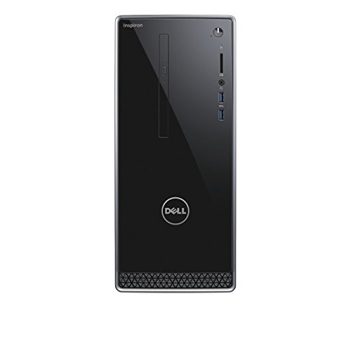 Dell Inspiron 3000 3668-1660 Mini Desktop PC (Intel Core i3-7100, 1000GB Festplatte, 8GB RAM, Intel HD Grafik 630, DVD-RW Laufwerk, Win 10 Home) schwarz