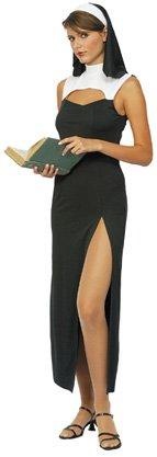 Costume suora sexy donna Taglia Unica