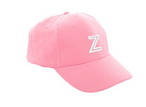Unisex Jungen Mädchen Mütze Baseball Cap Rosa Marineblau Hut Kinder Kappe Alphabet A-Z Morefaz TM (Z) (Snapback Hut Lakers)