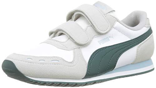 V PS, Unisex-Kinder Sneakers, Weiß (Puma White-Gray Violet-Ponderosa Pine), 35 EU (2.5 UK) ()