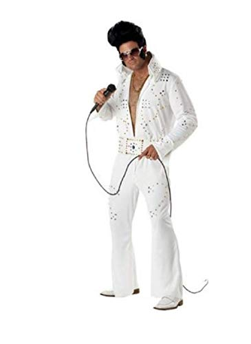 California Costumes 00958 - Leggenda del Rock Elvis Costume for Adult Men Taglia Small