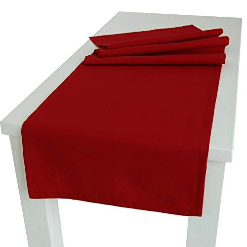 beties Wunschton Tischläufer ca. 40x130 cm in großer Sortiments- und Größenauswahl für In &...
