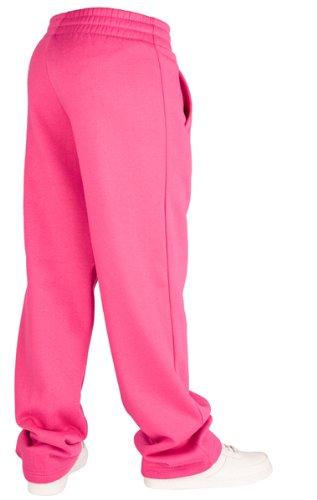 Pantalon de jogging pour femmes | Urban Classics Loose Fit Sweatpants | 11 Couleurs | Tailles: XS-XL + Bandana 2Store gratuit Fuchsia