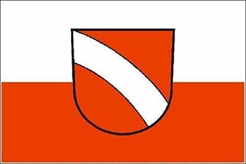 UB Aufkleber Altbach 8 cm x 5 cm Flagge / Fahne (Autoaufkleber)