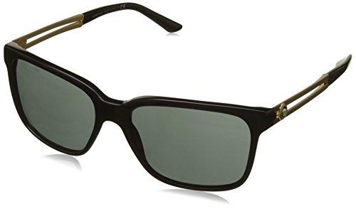 Versace Herren VE4307 GB1/87 Sonnenbrille, Schwarz (Black), One size (Herstellergröße: 58) (Versace Herren Gold Brille)