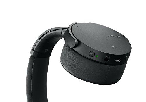 Sony MDR-XB950N1 kabelloser Kopfhörer mit Geräuschminimierung (Noise Cancelling, Extrabass, NFC, Bluetooth, faltbar) schwarz - 7