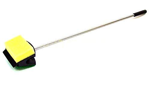 Aquarium Scheibenreiniger Schwamm + Hartschwamm 3in1 Scraper Reiniger