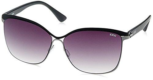 IDEE Gradient Square Women's Sunglasses - (IDS2092C2SG|59|Smoke Gradient lens) image