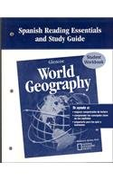 Glencoe World Geography, Spanish Reading Essentials and Study Guide, Workbook por Mcgraw-Hill Education