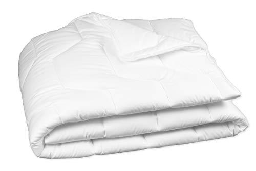 Zollner Bettdecke ca. 135x200 cm, Für Allergiker, Füllgewicht ca. 1100 g