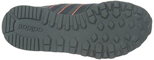 adidas 10k W, Scarpe da Ginnastica Donna, Multicolore Grigio/rosso (Gris/Gris/Brisol)