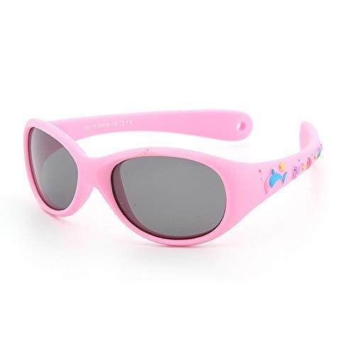 Baby Sonnenbrille Kinder Umwelt Silikagel Brille Kinder Falten Silikon Sportbrille Kinder Anti Schutz Radfahren Brille, S