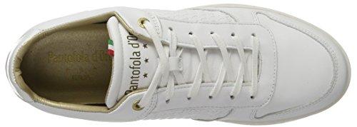 Pantofola Doro Herren Auronzo Intrecciato Uomo Basso Sneaker Weiß (bianco Brillante)
