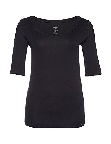 Marc Cain Essentials Marccaindament-Shirts+e4869j14, T-Shirt Femme Blau (midnight blue 395)