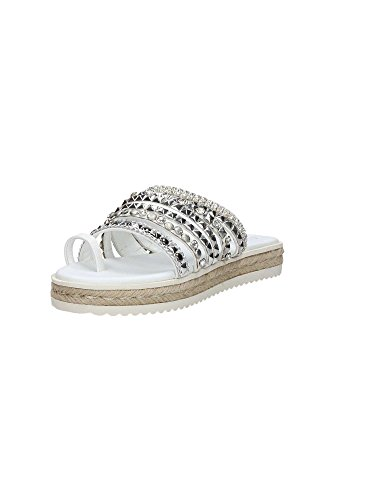 Guess FLANI2FAB03 Sandalo Donna Bianco