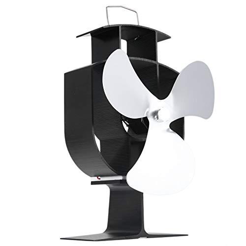 Eco Friendly Hitze Powered Herd Fan haltbaren Gebrauch 3 Blatt Herd Fan ()
