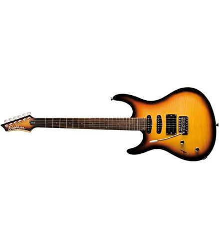 Washburn - Rx20f vsb lh guitarra eléctrica tipo strato lh para zurdos
