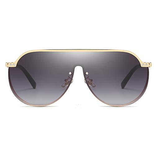 Morran Vintage Damen Modisch Polarisierte Sonnenbrille Vintage Übergroße Sonnenbrillen