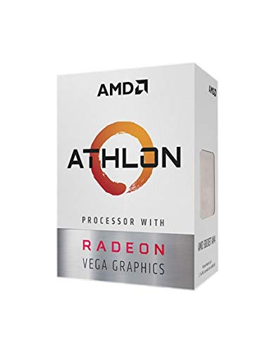 AMD YD200GC6FBBOX Athlon 200GE Retail AM4 Dual Core 3, 30 GHz CPU - Schwarz