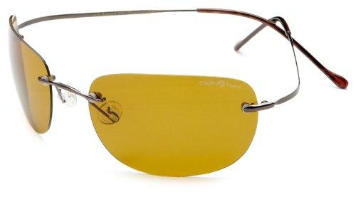 Preisvergleich Produktbild Eagle Eyes Sonnenbrille im Set mit Fernglas / Klassische und elegante Sonnenbrille verhindert Behinderungen durch Spiegelungen und reflektierende Scheinwerfer / Schwarzes,  poliertes Gestell mit Anti- Rutsch-Stick / Schützt sie zu 100% gegen UV-Strahlung und reduziert das schädliche Blaulicht / Vergrößert die Kontrast- und Sichtschärfe