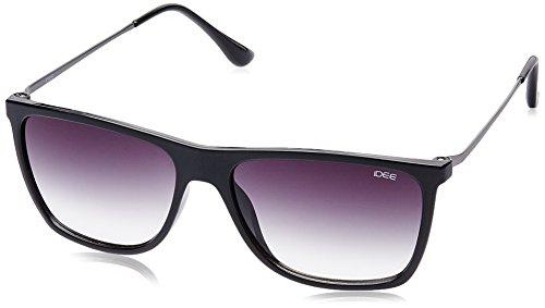 IDEE Gradient Square Men's Sunglasses - (IDS1934C2SG|56|Smoke Half Gradient lens) image