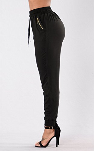 JOTHIN 2018 Vita Alta jeggings Pants Fitness Push up Pantaloni Casual Skinny Calzoni Elasticizzati Sport Pantalone Donna Nero