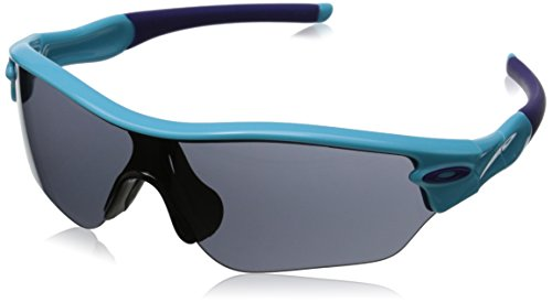 Oakley Unisex Sonnenbrille Oo9184 Radar Edge Illumination Blau/Grey (S3)