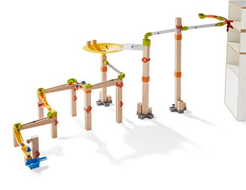 Haba 303968–Canicas–Master Construction Kit | grande canicas de Juego con muchos efectos | Diseño Sistema con diferentes posibilidades de montaje | Madera Juguete a partir de 4años