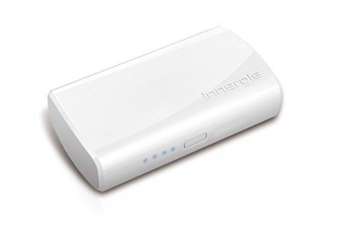 Innergie PocketCell 5200 – Power Bank/ Akku Pack/ externer Akku + USB-Kabel (USB-Anschluss, 5200mAh) lädt mehr als 10.000 USB Geräte, Premiumqualität: bis 800 und mehr Ladezyklen, Intelligenter Lade-Chip mit 5-Fach Schutzfunktion, 2.1 Amp sicheres Schnellladen, flugzeugzugelassen nach RTCA Bestimmung