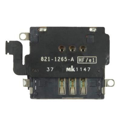 Neue Schwarze Ringer (JINYANG Original SIM-Kartensteckplatz in ausgezeichneter Qualität für das Neue iPad 4G (iPad 3 4G) (Schwarz))