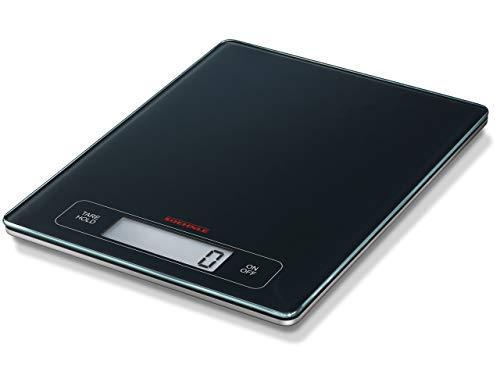 Soehnle Page Profi Digitalwaage für max. 15 kg, digitale Küchenwaage mit großer Wiegefläche und Tara, praktische Haushaltswaage mit Hold-Funktion Digital Balance