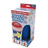 Squeezy Freezy Squeeze Cup Slush Maker Slushy Factory Iced Drink (blau)